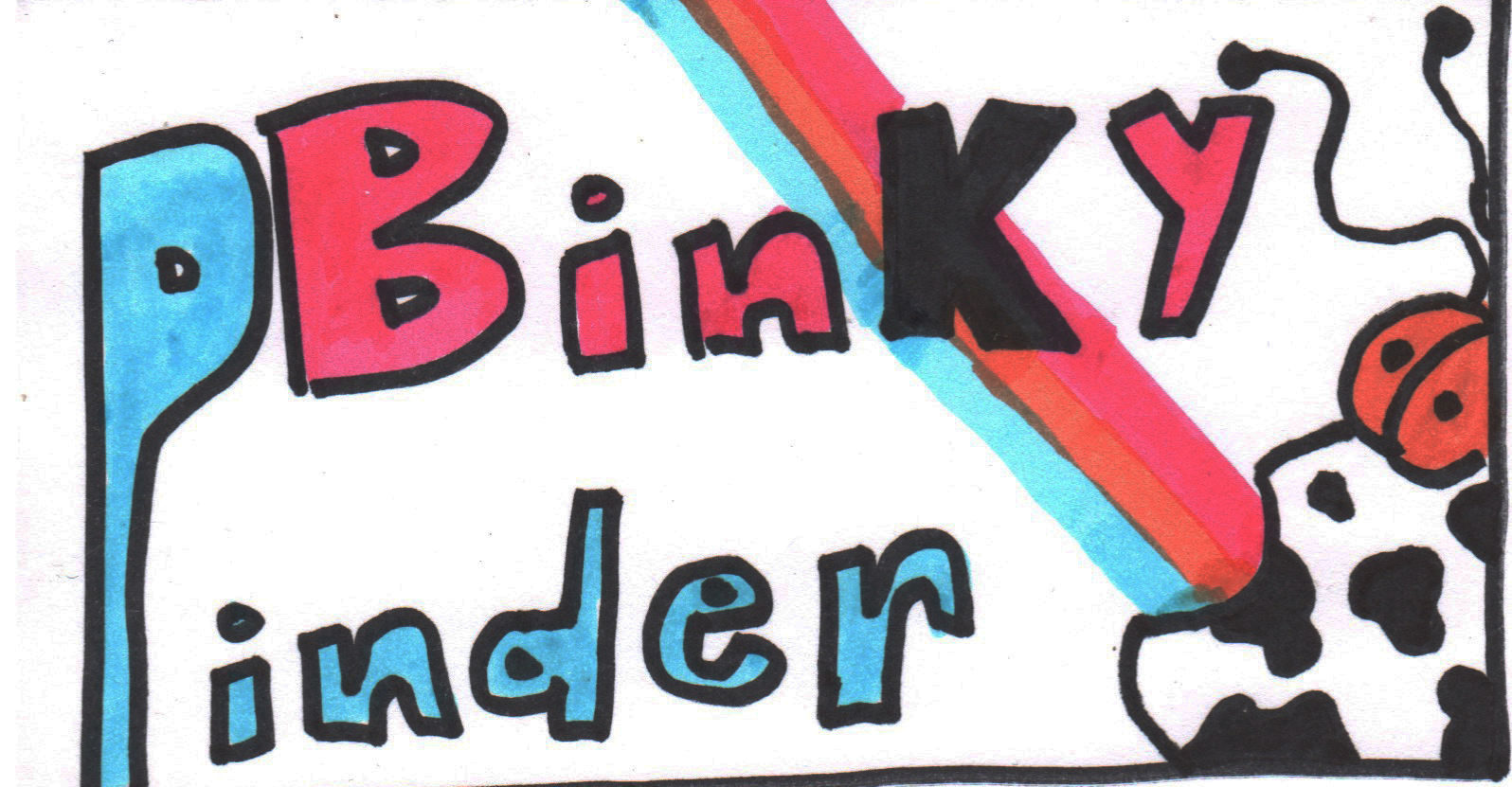 Logo for Binky Pinder's Funhouse